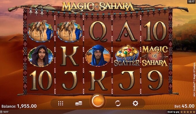 Magic of Sahara slot Microgaming