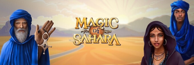 Magic of Sahara recenzja slotu Microgaming