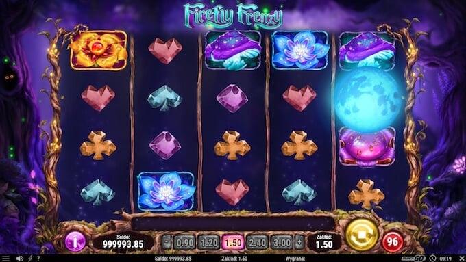 Firefly Frenzy slot symbole
