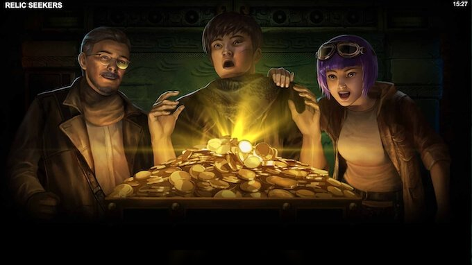 Relic Seekers nowy slot Microgaming
