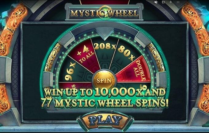 Mystery Wheel od Red Tiger Gaming funkcja bonusowa