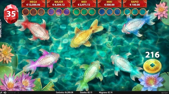 Imperial Riches automat online runda jackpot