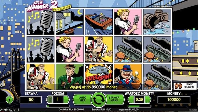 Jack Hammer 2 slot NetEnt
