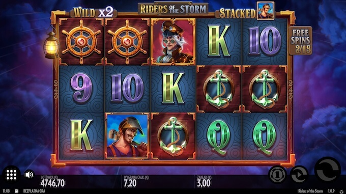 Riders of the Storm slot symbole