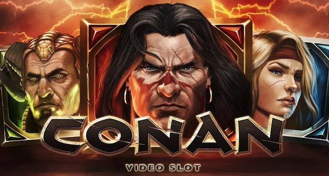 Conan nowy slot od NetEnt