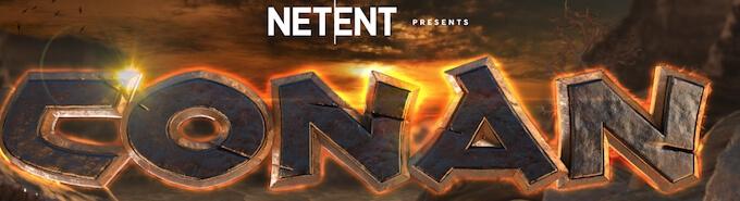 Conan nowy automat online od dostawcy gier Net Entertainment