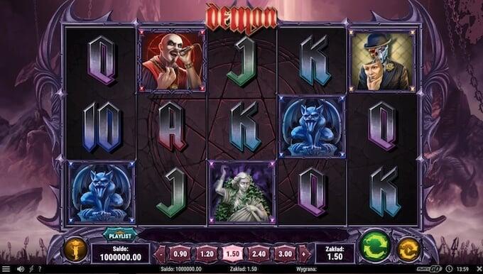 Nowy automat Demon od Play N Go