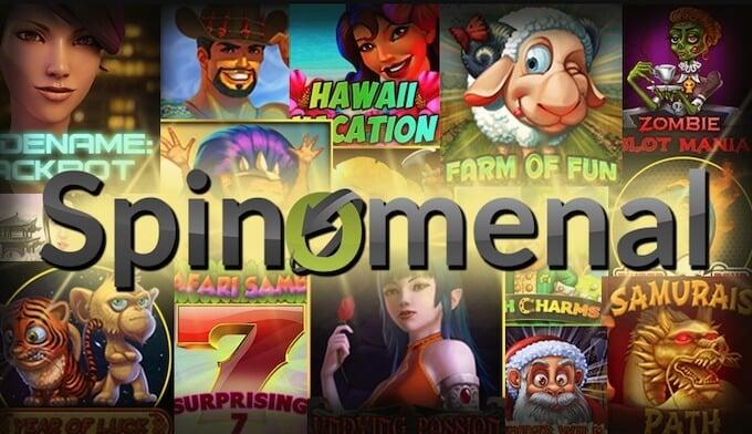 selekcja gier od dostawcy gier Spinomenal