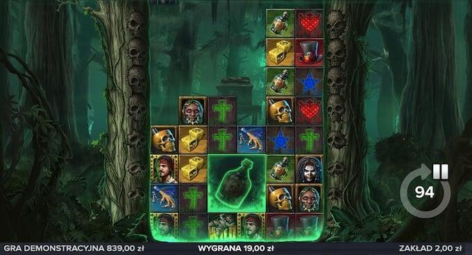 Voodoo Gold nowy automat online od Elk Studios