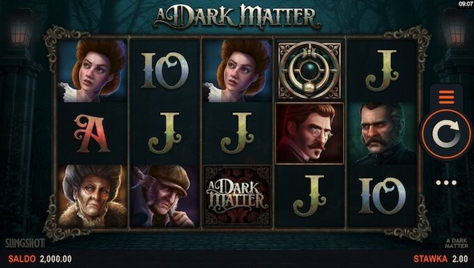 A Dark Matter nowy automat online od Microgaming