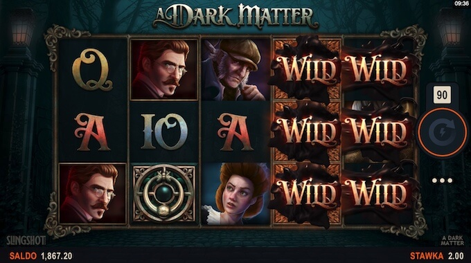 A Dark Matter nowy automat wideo od Microgaming