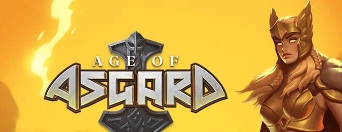 Age of Asgard nowy slot Yggdrasil