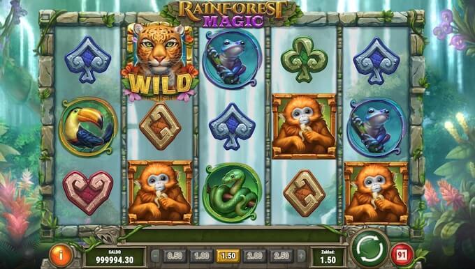 Rainforest Magic slot od Play N Go