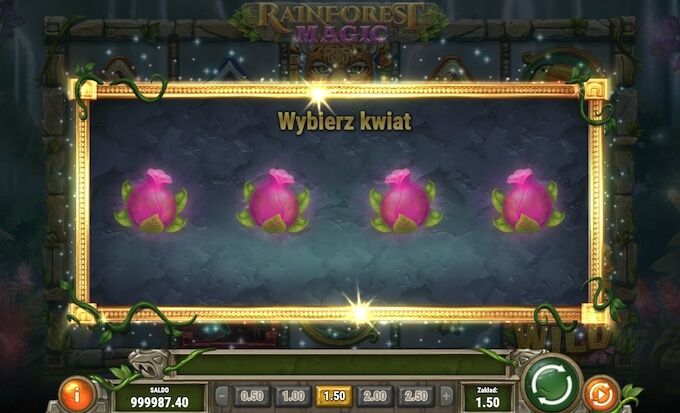Rainforest Magic slot od Play n Go
