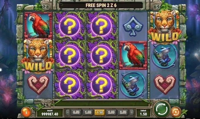 Rainforest Magic slot darmowe spiny