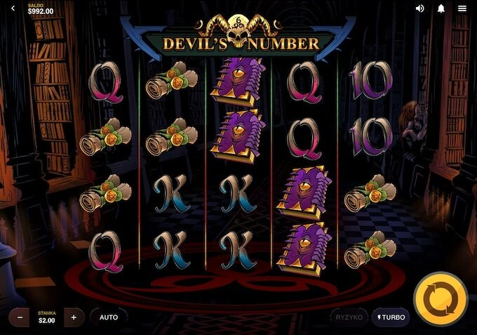 Devil's Number slot od dostawcy gier Red Tiger Gaming