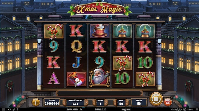 Xmas Magic slot Play N Go