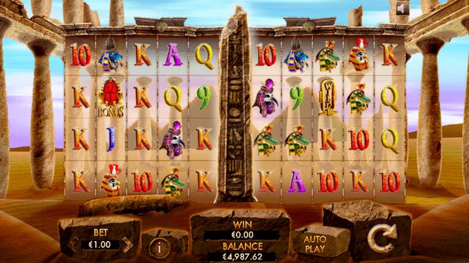 Zagraj na automacie Temple of Luxor !