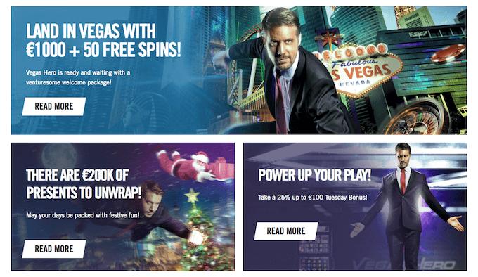 Promocje w Vegas Hero
