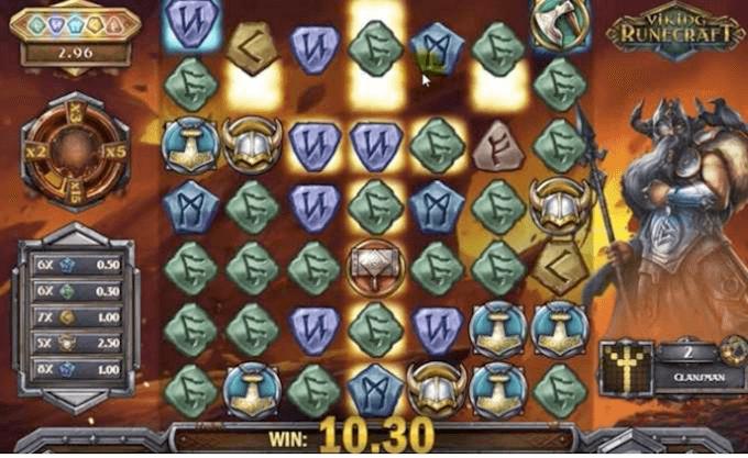 Viking Runecraft Gra Bonusowa