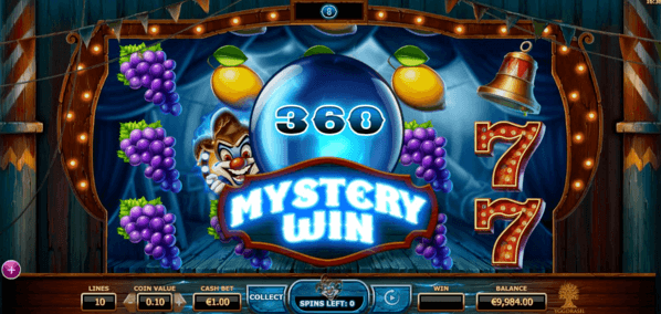 """Wicked Circus"" - funkcja Mystery wins"