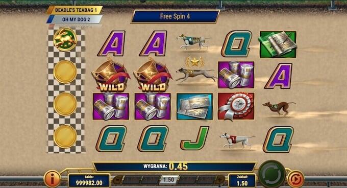 Wildhound Derby slot darmowe spiny