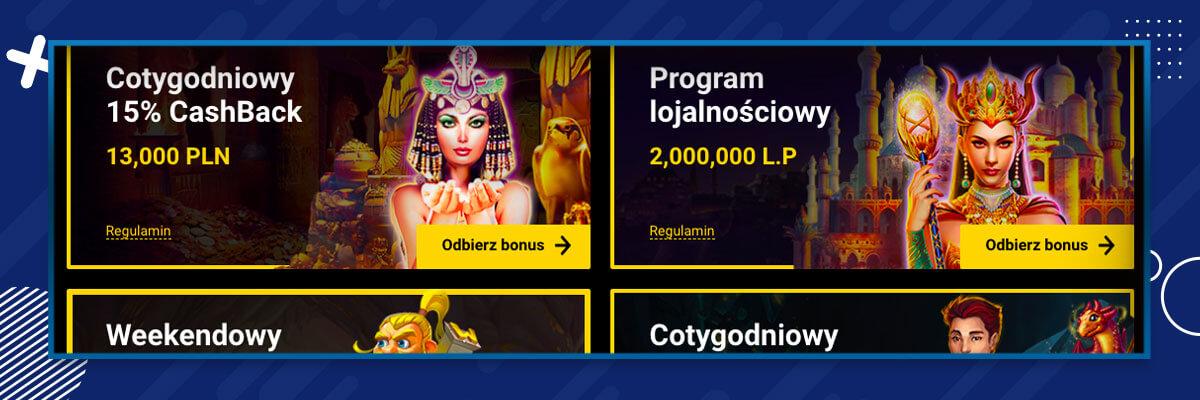 stałe oferty w Zet Casino